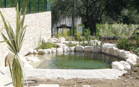 Laghetti artificiali - Santarini cemento