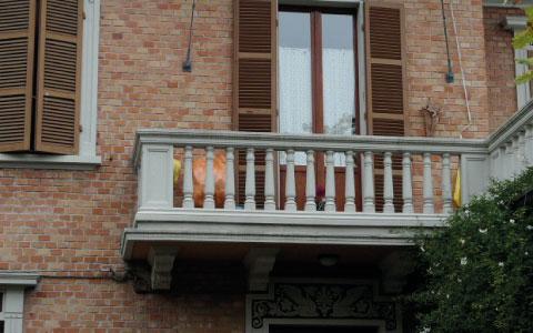 Balaustre per balconi - Santarini cemento