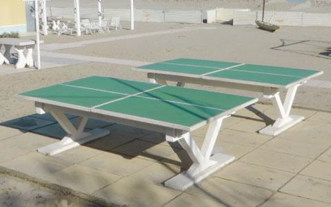Tavoli da ping pong - Santarini cemento